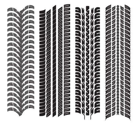 vaus tyre treads Stock Vector - 18245682