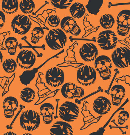 Halloween pattern Stock Vector - 18349337