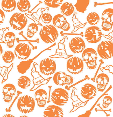 Halloween pattern Stock Vector - 18245671
