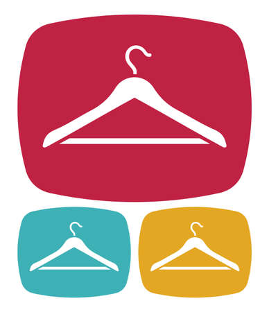 clothes hangers: Hanger icon