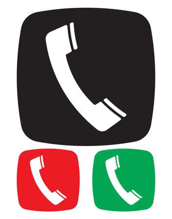 Telephone Icon Stock Vector - 18332873