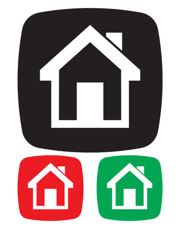 Home icon Stock Vector - 18332870