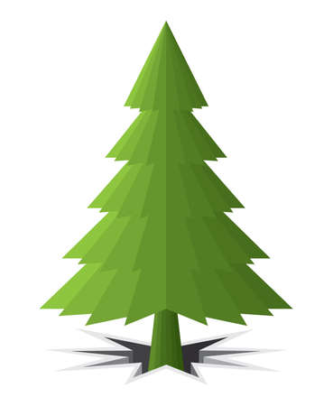 christmas tree Stock Vector - 18281829