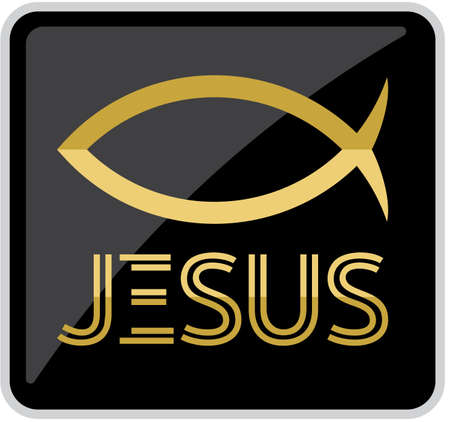 Jesus fish symbol Stock Vector - 18281820
