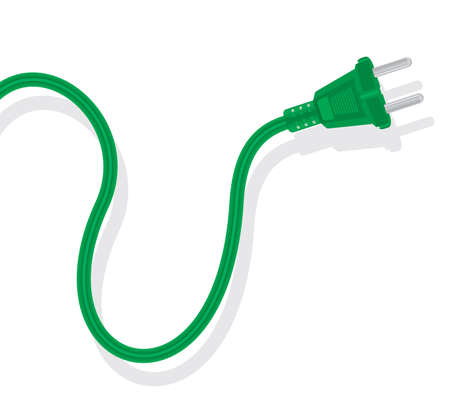 electric outlet: Green Energy concept