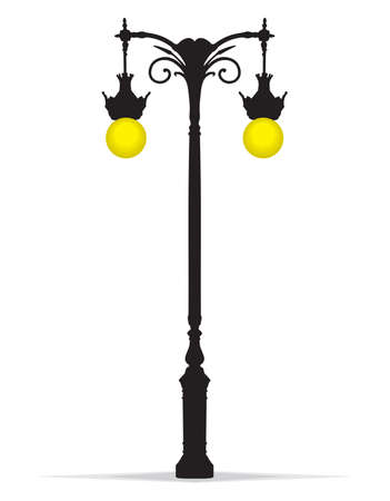 streetlight: Decorative street lamp