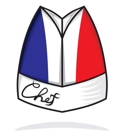 France chef hat Illustration