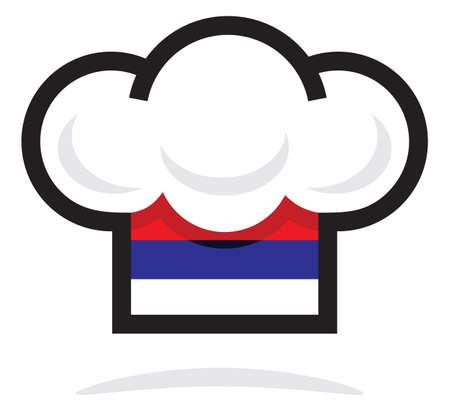 kitchener: Serbian chef hat