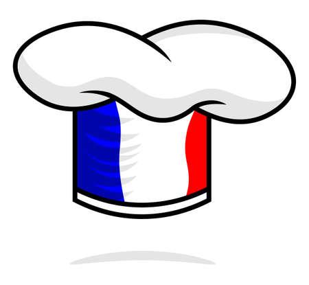 kitchener: France chef hat Illustration