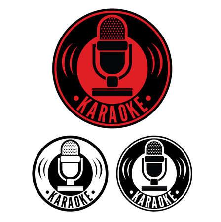 microphone: Karaoke Microphone symbol