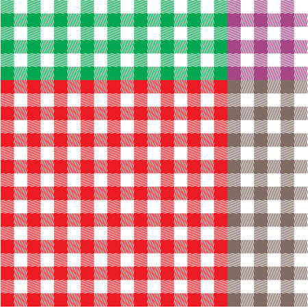 chequered drapery: Retro tablecloth texture