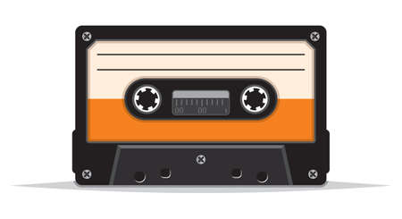 analogical: Cassette tape Illustration
