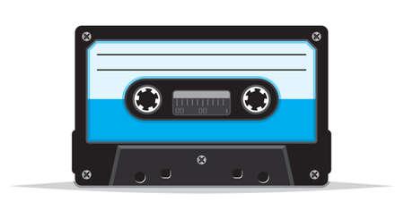 dated: Cassette tape Illustration