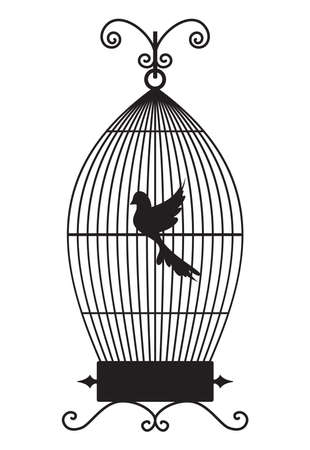 Bird cage Stock Vector - 18440023