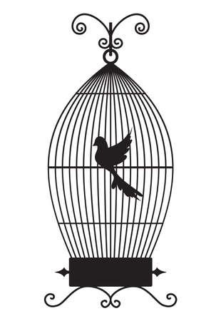 Bird cage Stock Vector - 18440023