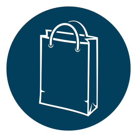 business bag: shopping bag icon