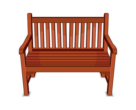 wooden bench: Wooden Bench