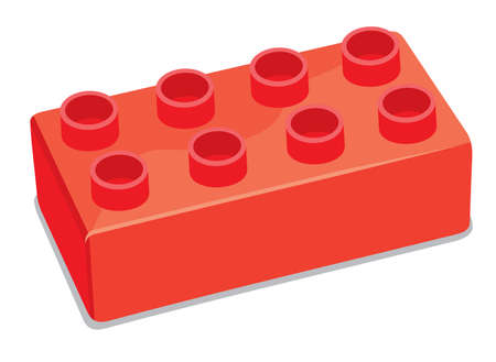 building activity: Plastic building blocks