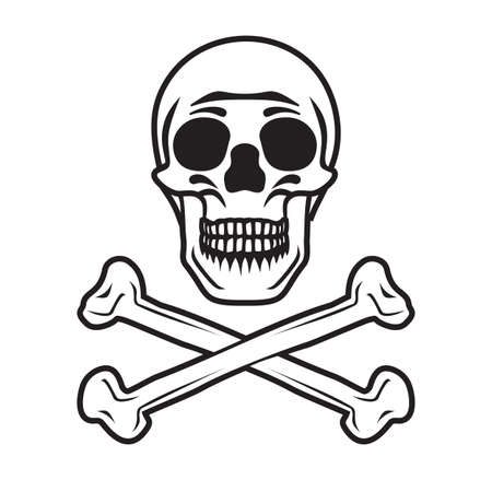 Pirate sign Stock Vector - 18349278