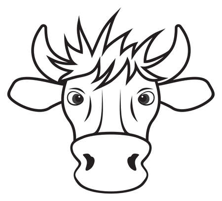Cow Stock Vector - 18349295