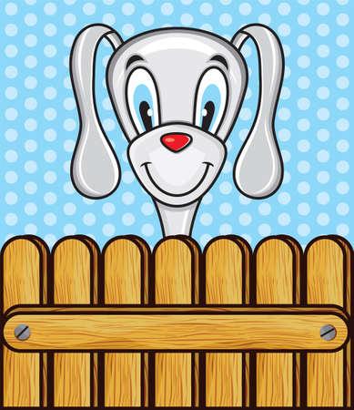 Cute funny dog Stock Vector - 18349280