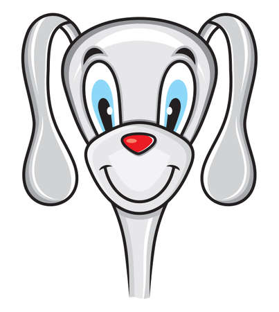 Cute funny dog Stock Vector - 18435383