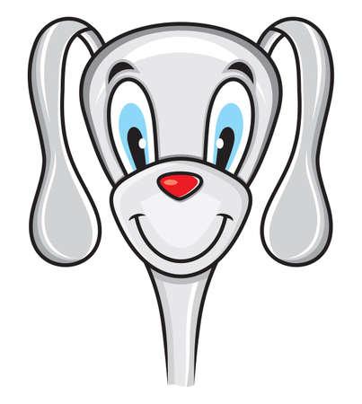 Cute funny dog Stock Vector - 18435383