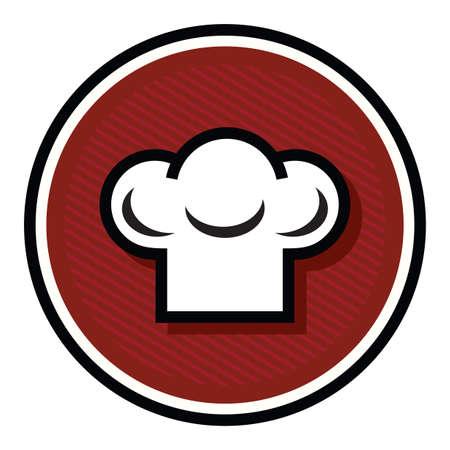 gorro chef: cocinero sombrero icono