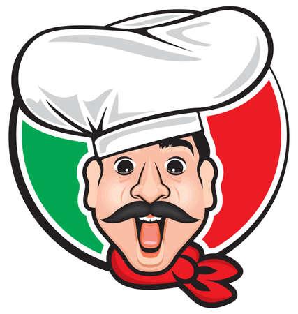 chef italiano: cocinero italiano