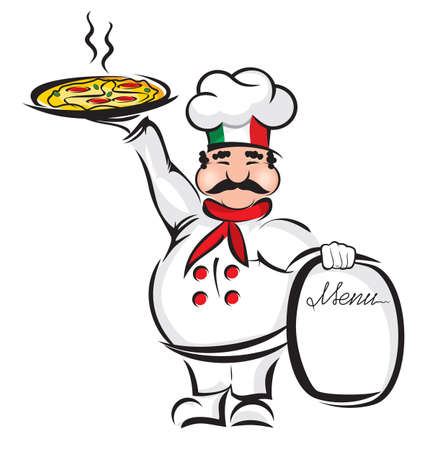 pizza man: Chef