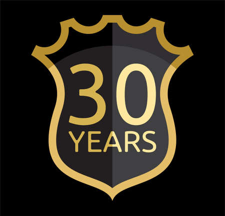 30: Golden shield 30 years