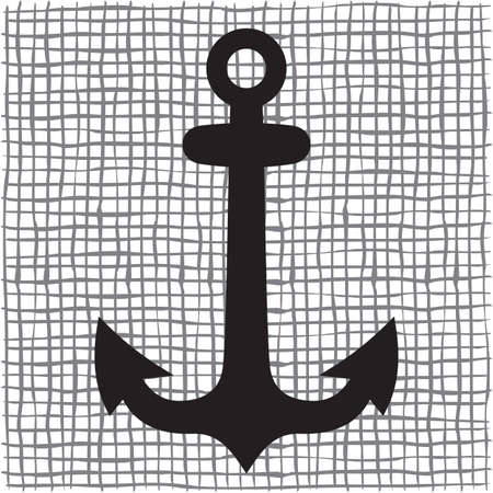 ancre marine: Vieille ancre