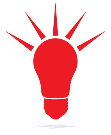 light bulb icon Stock Vector - 18688979