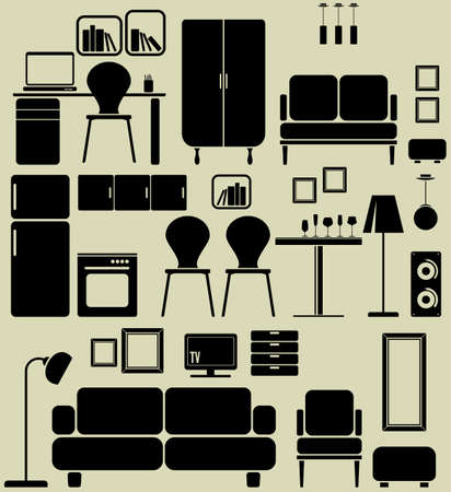 Furniture Stock Vector - 18688977