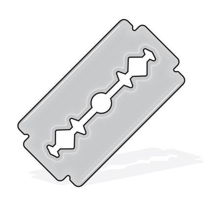 Blade razor Stock Vector - 18405659