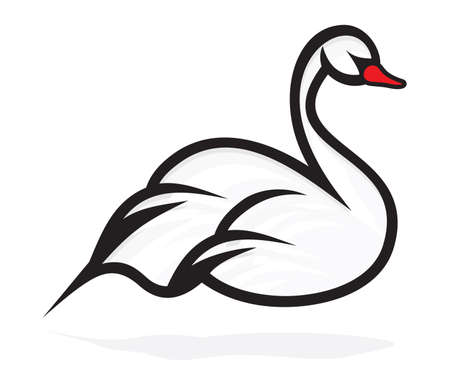�white: cisne