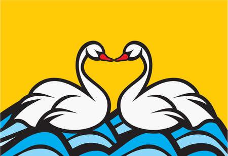 swan concept Stock Vector - 18440079