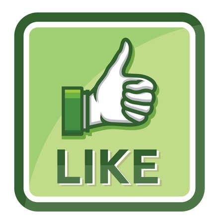 thumb up Stock Vector - 18419438