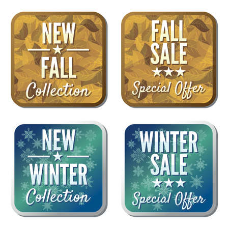winter and autumn sale collection Stock Vector - 18442121