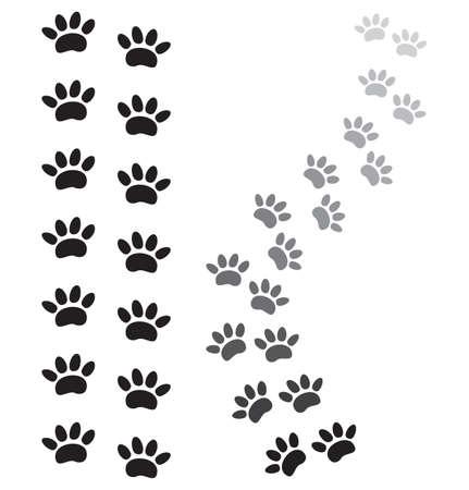 huellas de perro: estampados de animales de pata
