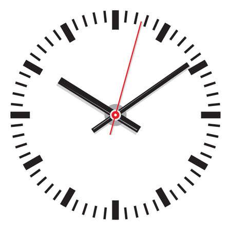 Clock Stock Vector - 18452534