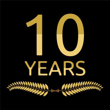 laurel branch: laurel wreath 10 years