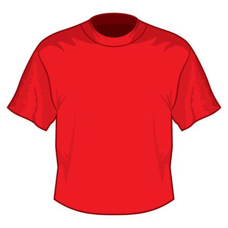 Retro basic T-shirt Stock Vector - 18690160
