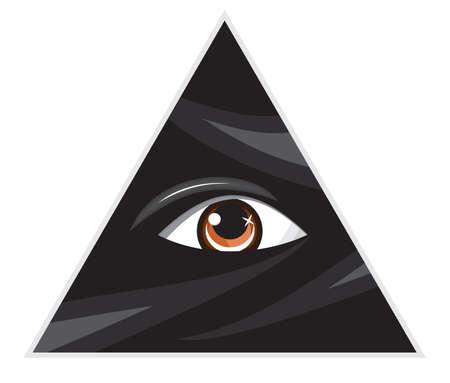occhio di horus: Piramide Eye