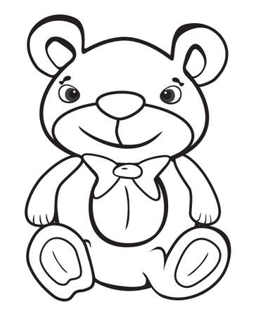 stuffed animals: cute business bear