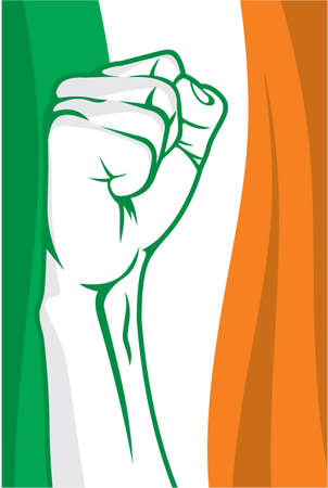 democracia: Irlanda del puño