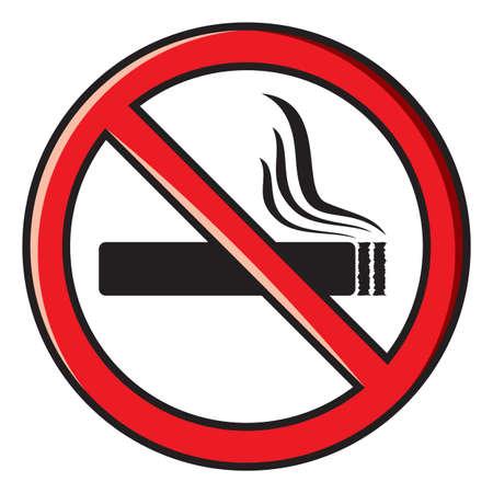 no smoking sign Stock Vector - 18464655