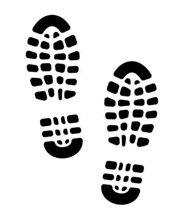 individualit�: suole impronta scarpe Vettoriali