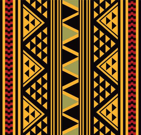 grid pattern: African pattern