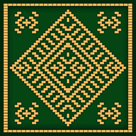 african culture: African pattern